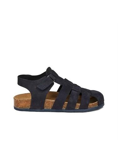 Vicco Vicco 905.20Y.080 Arena Hakiki Deri Kız/Erkek Çocuk Spor Sandalet Ayakkabı Lacivert
